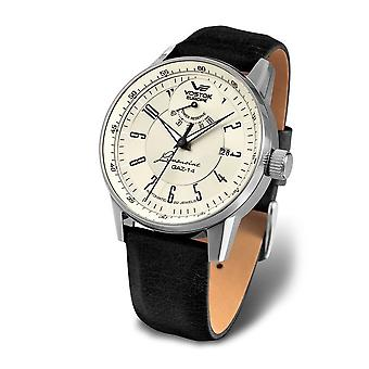 Vostok-Europe - Wristwatch - Men's - Automatic Limousine - YN85-560A518 Leather