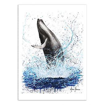 Art-Poster - Glorious Ocean Whale - Ashvin Harrison