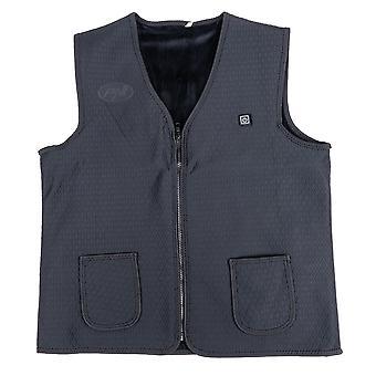 Elektrisch vest met verwarming PNI Body Warmer L, met USB, 3 niveaus van verwarming, wasbaar, voor buitenactiviteiten, uniseks, maat L