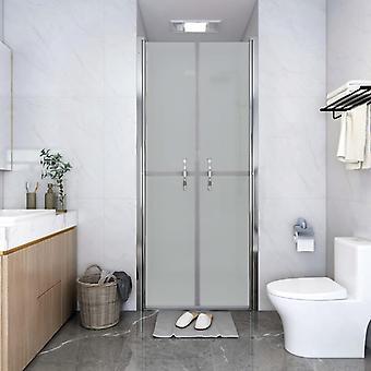 vidaXL Shower door matt ESG 91x190 cm