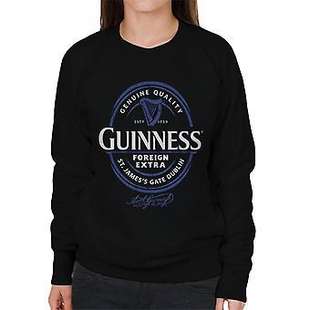 Guinness Foreign Extra Blue Label Women's Sweatshirt