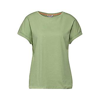 Street One 316114 T-Shirt, Faded Green, 44 Woman