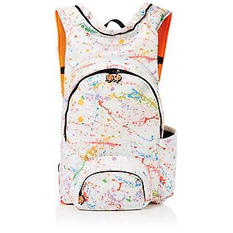 MorikukkoMorikukko Hooded Backpack Puffed SplashUnisex -AdultZainiMulticolore (Puffed Splash)33x8x40 Centimeters (W x H x L)