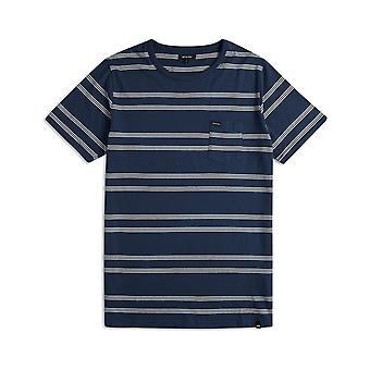 Animal Piper Short Sleeve T-Shirt in Dark Navy