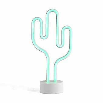 Livoo - Lámpara de cactus de neón LH98