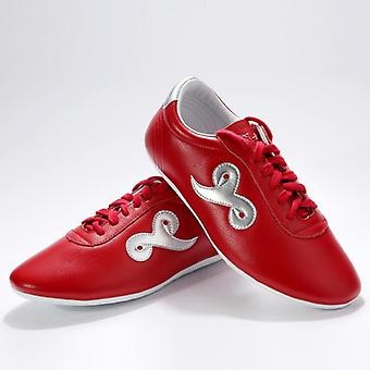 Kiváló minőségű cipők, puha bőr Kung Fu cipők