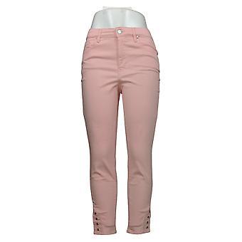 Martha Stewart Petite Jeans Color Jeans Color Denim Pink A353591