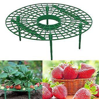 Balcony Planting Rack Strawberry Stand Frame Holder Fruit Support Flower Climbing Vine Pillar Gardening Stand