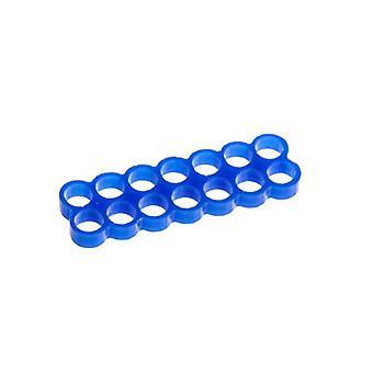 E22 14スロットステルスケーブルコーム - ブルー