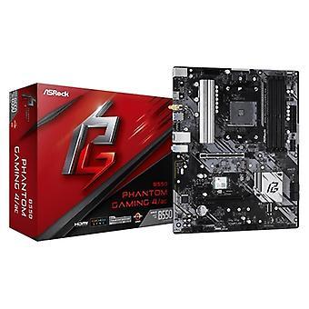 ASRock B550 Phantom Gaming 4/ac AMD Socket AM4 ATX HDMI M.2 USB 3.2 Gen1 Wi-Fi ac Motherboard
