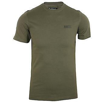 Barbour international men's dusky khaki small logo t-shirt