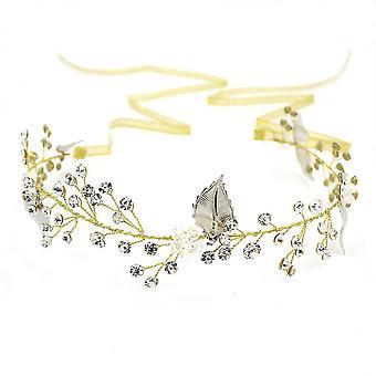 Ručne vyrobené Krištáľ drahokamu Svadobné Koruna Tiaras Svadobné svadobné doplnky Šperky Vetvičky