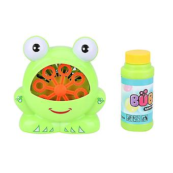 Frog Bubble Machine With  Bubble Maker For Children