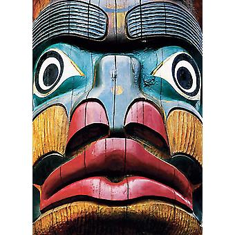 Eurographics Totem Pole, Comox Valley Jigsaw Puzzle (1000 Pièces)