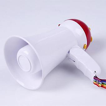 Mini håndholdt forstærker, bærbar, foldbar, Megaphone højttaler, elektrisk