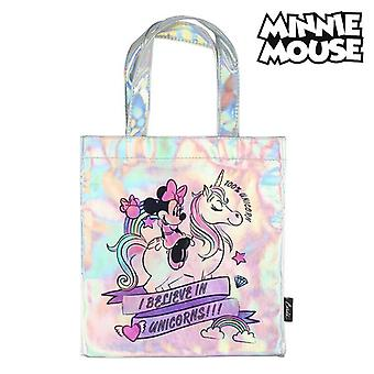Bag Minnie Mouse 72874 Pink Metallic