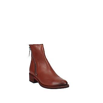 Frye   Demi Leather Block-Heel Booties