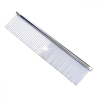 Pet Comb, Stainless Steel Combing Tool For Dog And Cat Long Hair Comb