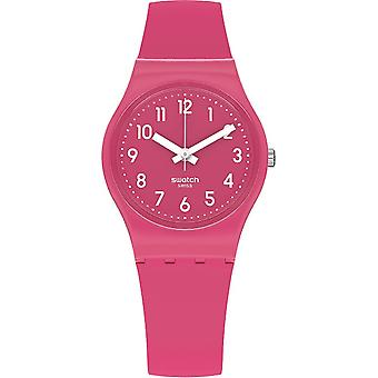 Swatch Lr123c Volver a Pink Berry Silicone Watch