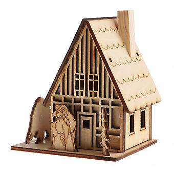 3d Wooden  Toy House
