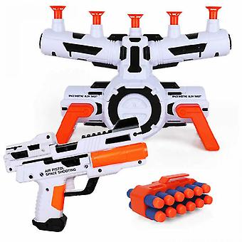 Target With Gun Toy Electric Suspension Shooting Target Shooting Ball Float Shooting Target Game