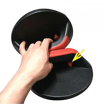 Pushup handgrepen voor vloer met brede grepen (draaibaar)