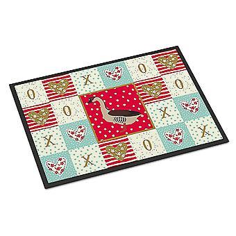 Door mats carolines treasures ck5323jmat chinese goose love indoor or outdoor mat 24x36