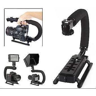 U Shape Bracket Handheld Grip Stabilizer For Dslr Camera Camcorder Video