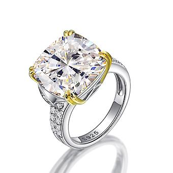 Zircon Engagement Silver Ring For Women