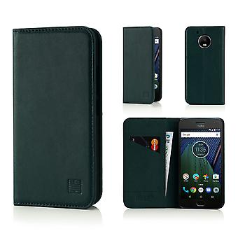 32nd Classic Wallet for Motorola Moto G5 (5.0) - Racing Green