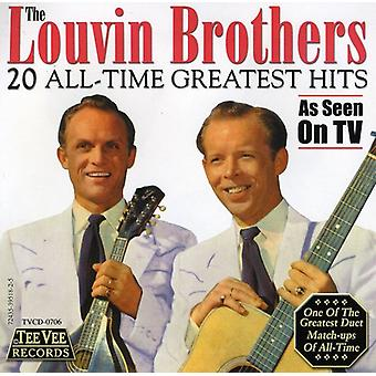 Louvin Brothers - 20 All-Time Greatest Hits [CD] USA import