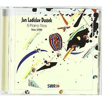 J.L. Dussek - Jan Ladislav Dussek: 5 Piano Trio's [CD] USA importeren