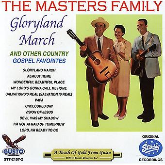 Masters Family - Gloryland March [CD] USA import