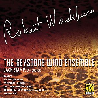 R. Washburn - The Composer's Voice: Robert Washburn [CD] USA import