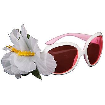 Audrey óculos óculos luxo piada óculos flor flor de óculos