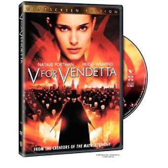 V for Vendetta [DVD] USA import