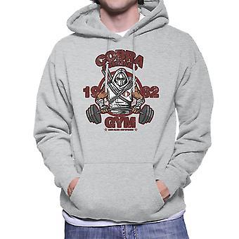 Cobra Command Gym GI Joe Storm Shadow Men's Hooded Sweatshirt