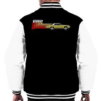 The Classic Groovy Ash Vs Evil Dead Men's Varsity Jacket