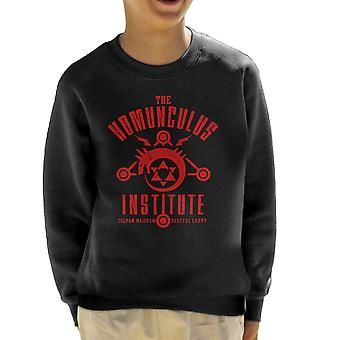 The Sins Of The Father Full Metal Alchemist Kid's Sweatshirt