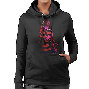 Kurt Cobain Nirvana gitarr Women's Hooded Sweatshirt