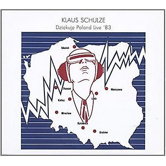 Klaus Schulze - Dziekuje Poland Live 83 [CD] USA import