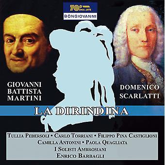 Martini, Giovanni Battista / Motto, Francesco - La Dirindina [CD] USA import