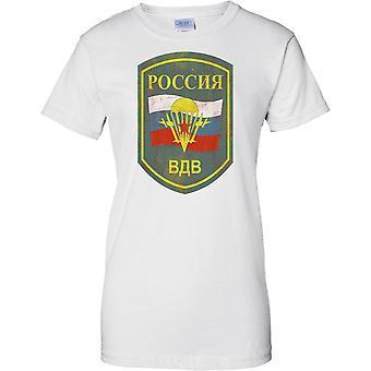 Russiske luftbårne militære emblemer - Elite Army Special Forces - damer T skjorte