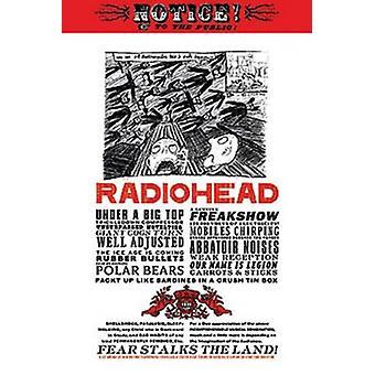 Radiohead - rädsla meddelande affisch affisch Skriv