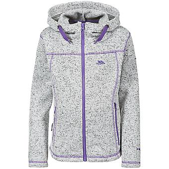 Trespass Childrens Girls Lovell Hooded Fleece Jacket