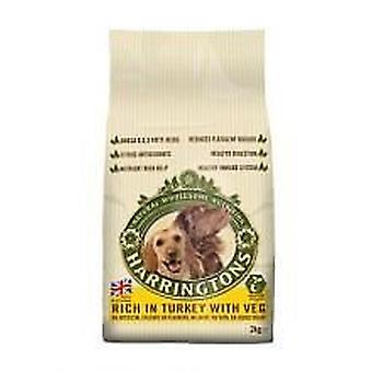 Harringtons Dog Dry Food Turkey & Veg 2kg