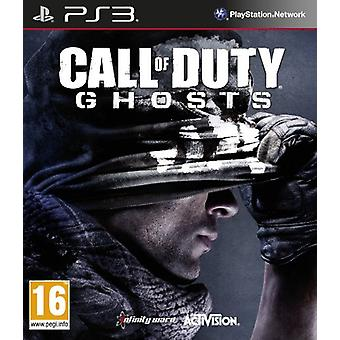 Call of Duty Ghosts (PS3) - Nouveau