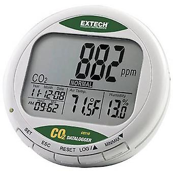 Extech CO210 Carbon dioxide detector 0 - 9999 pages/min