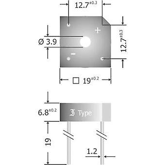 Diotec KBPC808 Diode bro KBPC 800 V 8 A 1-faset