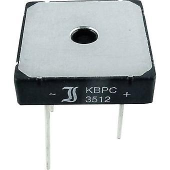 15-Diotec KBPC10-2506WP Diode bro KBPC 600 V 25 A 1-faset